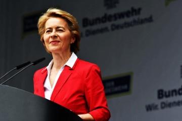 欧盟首位女性主席乌尔苏拉·冯德莱恩