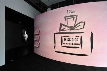 星光熠熠|《迪奥小姐:爱与玫瑰》展览昨夜在上海震撼开幕!